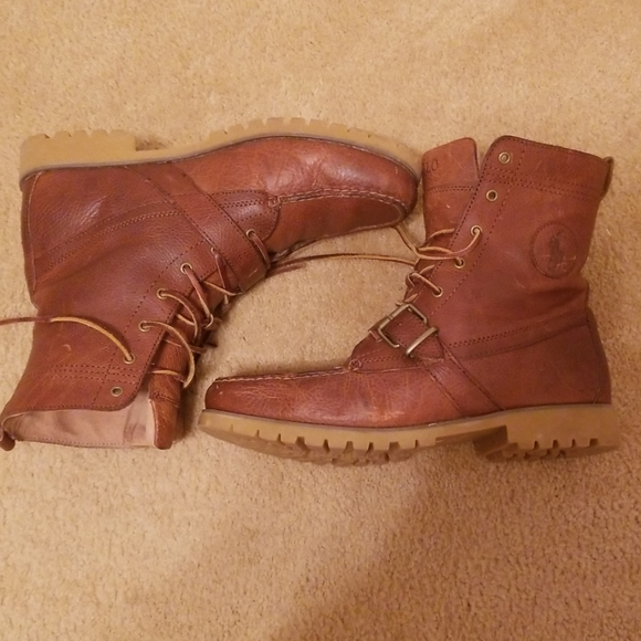 Vintage Polo Boots Rancher 90s Style